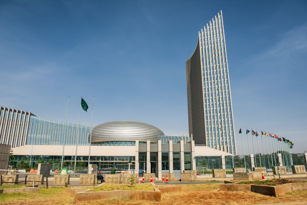 Addis Ababa Ethiopia African Union HQ